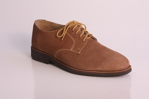 Brown leather shoes: Leather shoes