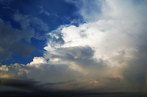 clouds and skies 1: before and after the summer storm