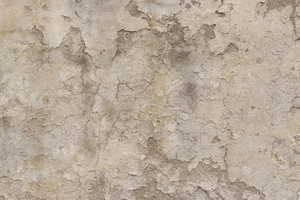 Flaking plaster texture: Flaking plaster on an old wall in Italy.