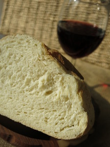 bread and wine: no description
