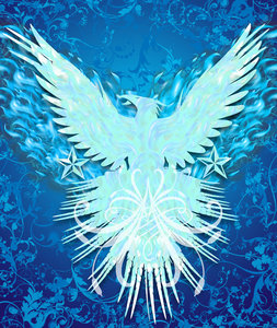 Blue Flame Eagle Wallpaper The Galleries Of Hd Wallpaper