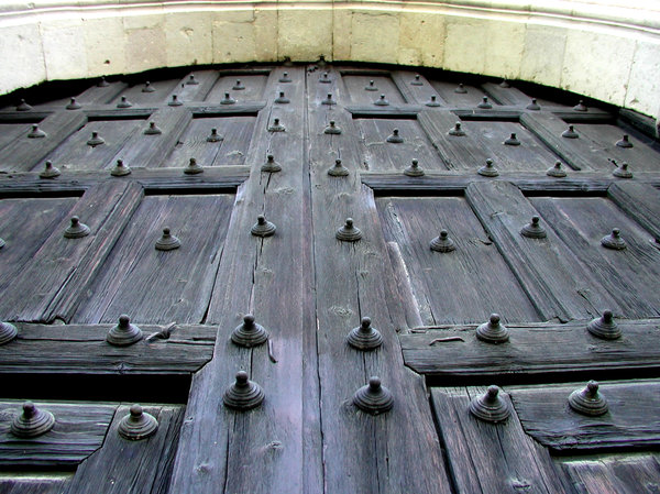 Antique doors: The baroque doors of San Francisco Javier Convent, at Tepotzotlan Mexico. I like the texture of the old wood.