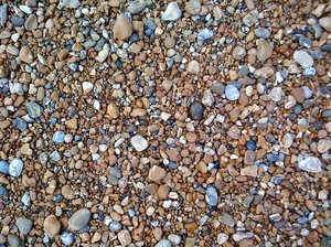 Stones: Texture mad up of stones and pebbles from Hastings Beach