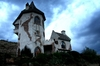 Scary Castle 1: a small castle (rapunzel's) near Clarens in the Free State, South Africa
