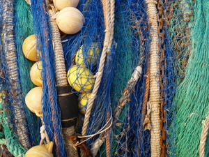 Fishing Net: This picture I took on a vacation on Mallorca (Spain).*****************And it would be really nice if you leave a short message, when you use my picture. THANX!