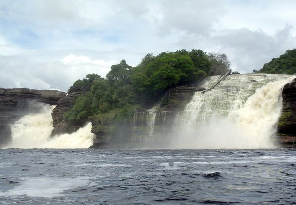 waterfall 2: photo taken in Canaima,Venezuela