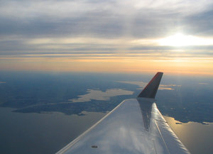 View From Above 4: Taken just after departing from Outagamie County Regional Airport, Appleton, Wisconsin.  July 2005.  Please let me know if you are able to use my pictures for something.Even if it's something small --I would be absolutely thrilled to know if they came in