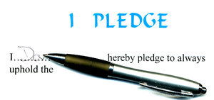 pledge 101: signing of pledge