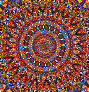 magic carpet colours: abstract backgrounds, textures, patterns, kaleidoscopic patterns, circles, shapes and  perspectives from altering and manipulating images