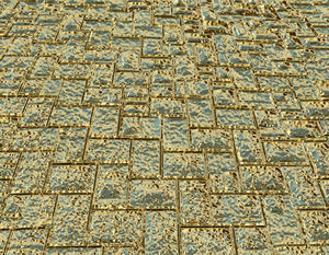 streets paved with gold1: abstract background, texture, patterns and perspectives