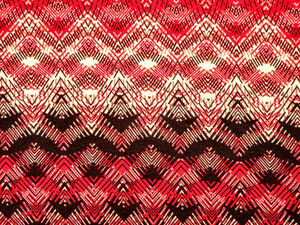 RWB fabric patterns2: red,white & black abstract line patterned fabric