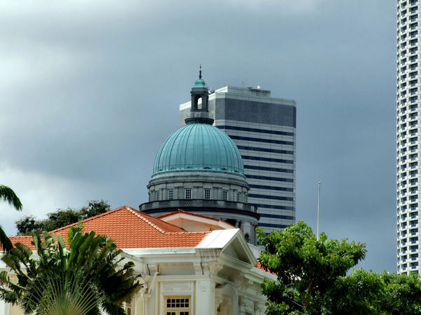 domed architecture3: colonial domed architecture in Singapore - old supreme court