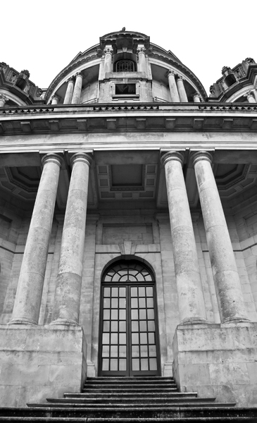 Ashton Memorial 2 B/W: The Ashton Memorial, Williamson Park, Lancaster, UK.