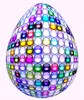 Bubble Egg: A 3d glass bubble decorative egg. You may prefer: http://www.rgbstock.com/photo/2dyXmUa/Easter+Egg+3  or:  http://www.rgbstock.com/photo/p5VmJrC/Floral+Egg+4