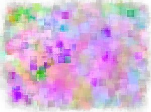 Grungy Colourful Squares: A beautiful grungy background of bright pastel squares with a weave pattern. This would make a fabulous background, fill or attention-getting flyer, etc.