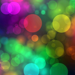 Bokeh or Blurred Lights 48: Bokeh, or blurred background lights in rainbow colours on black. Great for a background, scrapbooking, xmas greetings, texture, or fill. You may prefer:  http://www.rgbstock.com/photo/mHMHFPs/Blurred+Lights+-+Bokeh+1  or:  http://www.rgbstock.com/photo/nY