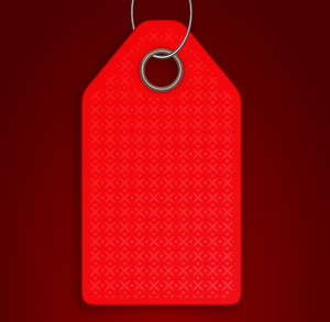 Blank Tag 3: A blank tag in red on a dark red background, with a metallic hole and loop. You may prefer:  http://www.rgbstock.com/photo/nTvqWYw/Tag+7  or:  http://www.rgbstock.com/photo/nTvqYCM/Tag+6+Christmas