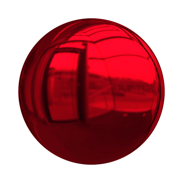 Christmas Baubles 4: Decorative Christmas bauble or ball in red with a shiny and reflective surface. Could be used as a button also,