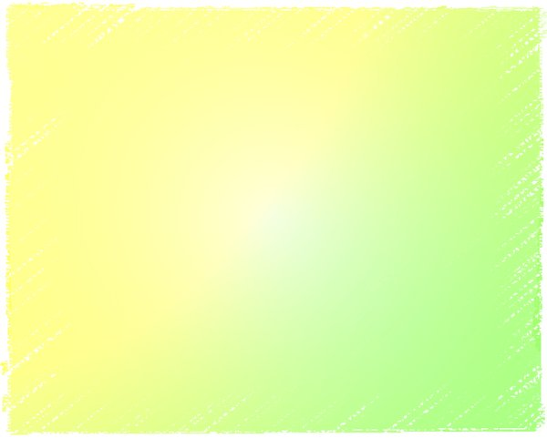 Grunge Edge Banner 1 A Colourful Grant In Pastel Shades Of Yellow And Green