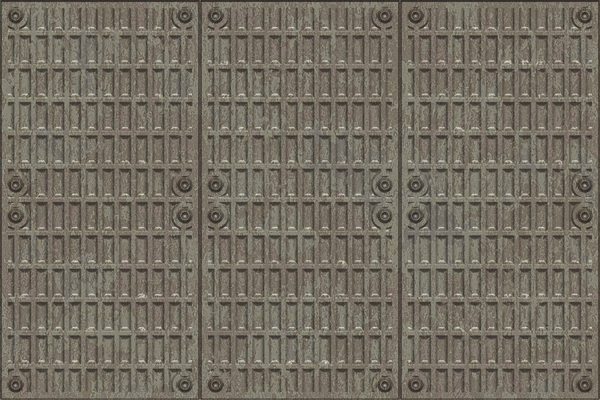 Metal Plate 4: Textured metal plate with rivets. A great texture, backdrop, or fill for when you want an industrial grunge feel. A high resolution image. No redistribution allowed.