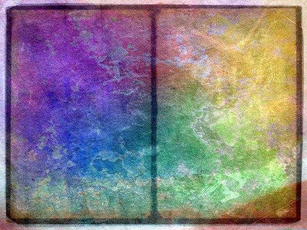 Grunge Pages 1: A grungy textured background divided into two sections, which could be pages or tables of stone.