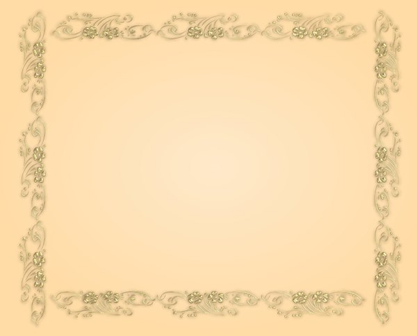 Golden Ornate Border 6: A golden ornate border or frame on a beige gradient background. You may prefer:  http://www.rgbstock.com/photo/o6fn1Qa/Golden+Ornate+Border+21  or http://www.rgbstock.com/photo/nvi0UW8/Golden+Ornate+Border+2