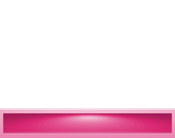 Banner With Lighting 11: A blank banner with a coloured 3d rectangular base border with a lighting effect.