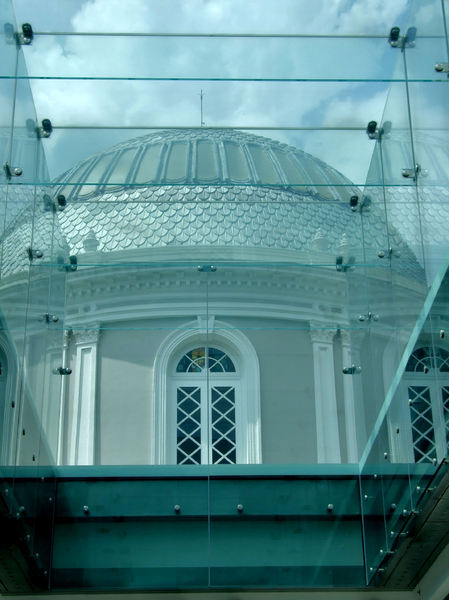 domed architecture8: colonial domed architecture in Singapore - national museum