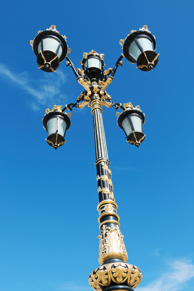Ornamental streetlamp