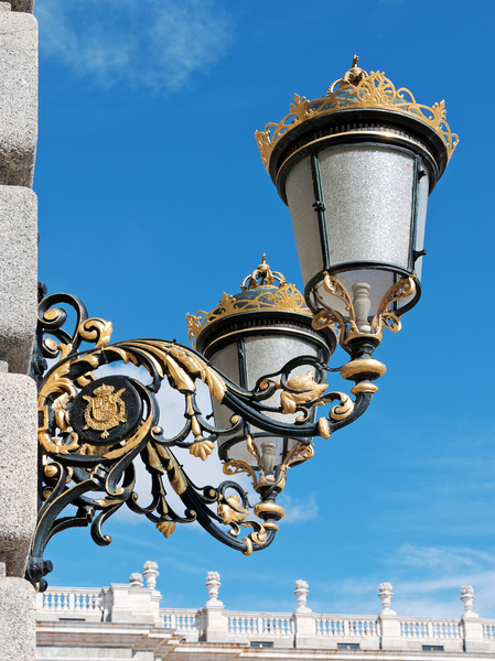 Ornamental streetlamps