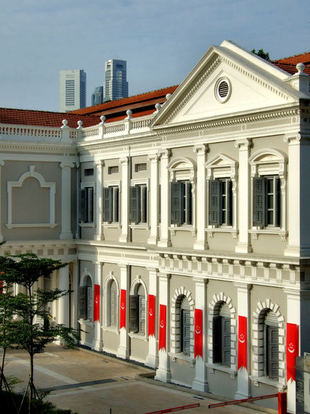 historic culture1: Victorian colonial architecture in Singapore - national museum
