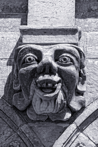 Comical gargoyle
