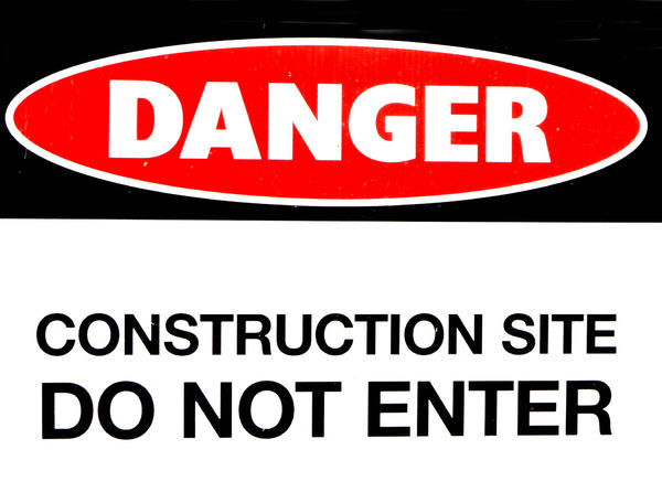 construction danger