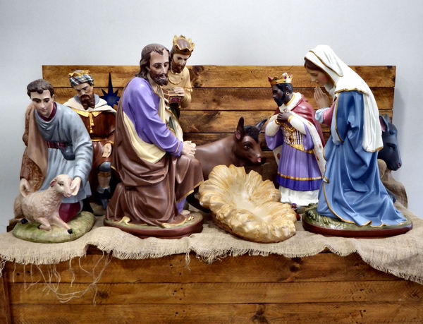 pre-Christmas eve nativity