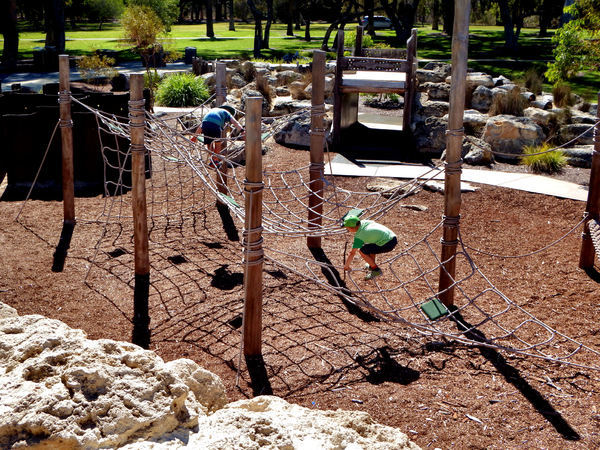 climbing ropes & nets5: children's public adventure park climbing ropes and nets