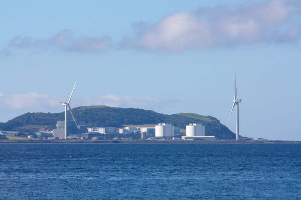Nuclear and wind power