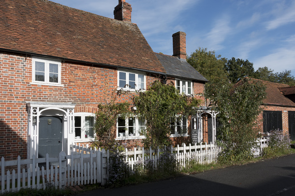 Old English cottages