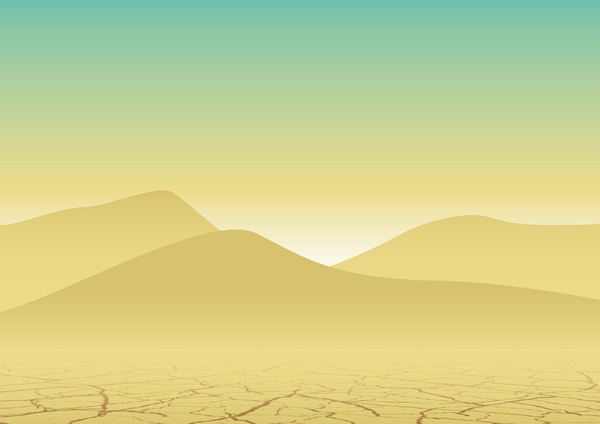 Desert Background Illustration