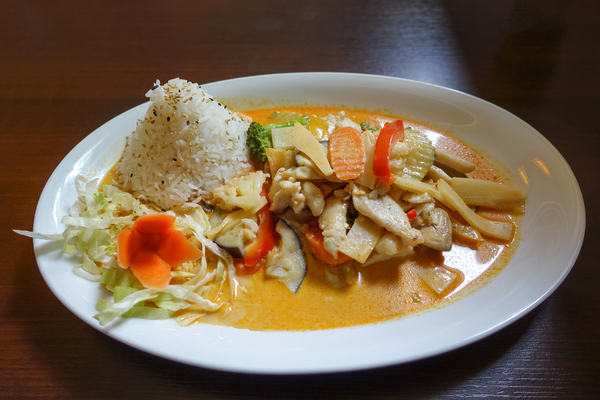 red curry: red curry