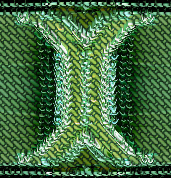 green mesh 'Y' support: abstract green mesh background, texture, patterns and perspectives