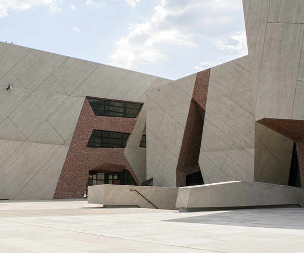Modern architecture: Conference and Cultural Centre