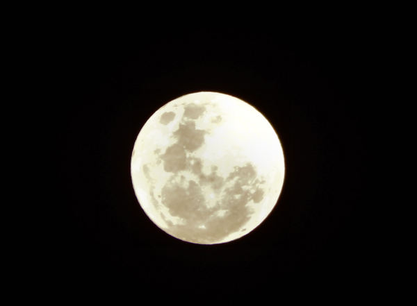 southern super moon