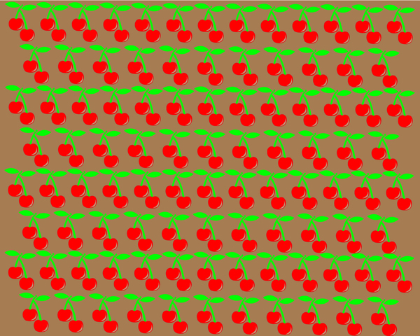 Cherries background 6