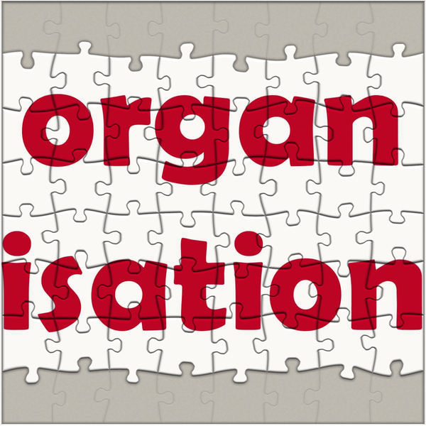 Organisation: A jigsaw graphic depicting organisational structure and cooperation. You may like:  http://www.rgbstock.com/photo/p7OMe80/ or http://www.rgbstock.com/photo/ok0gJFo/ Use within licence or contact me.