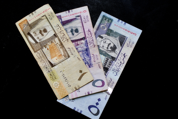 Saudi Arabia Riyal Bank notes