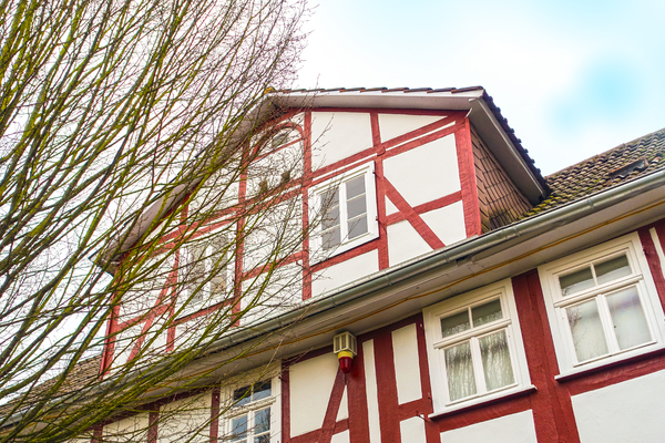 dynamic half-timbered house