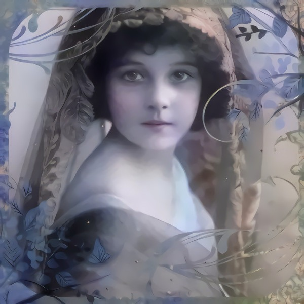 Victorian Girl 5: Variation on a public domain image of a Victorian beauty.