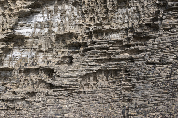 Eroded rocks texture