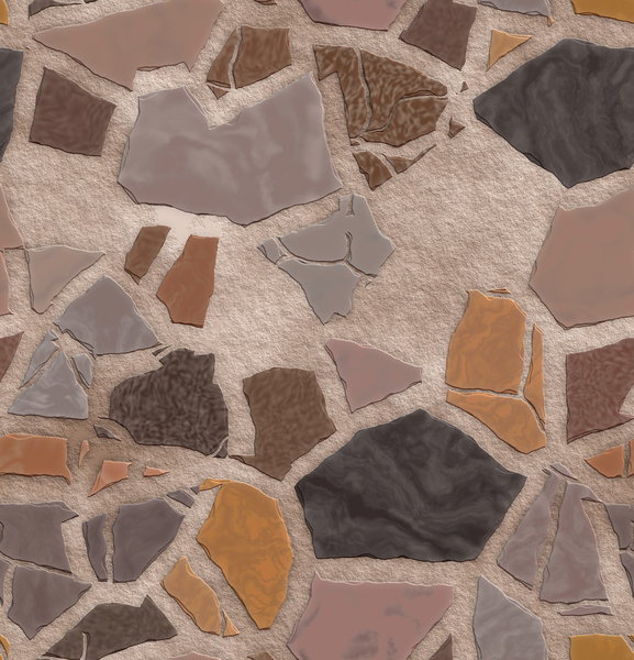 ground decorative stones