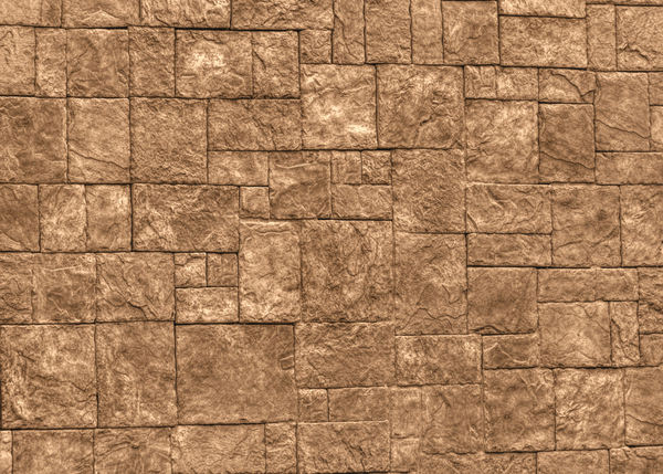 solid brown stone wall1